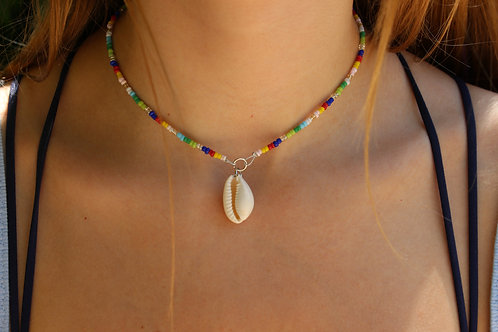 Jazzy Cowrie Shell Necklace
