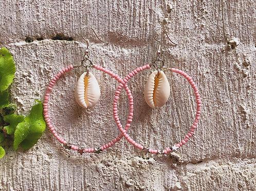 Pink Night Earrings
