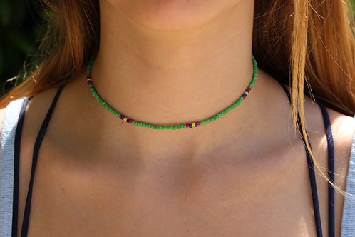 Tropical Parrot Choker
