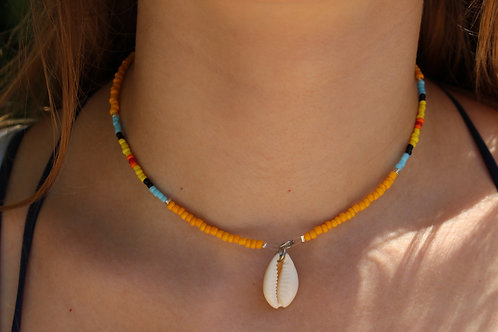 Amber Sunset Necklace