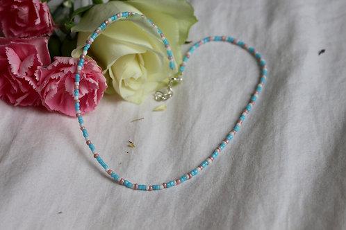 Rosie Sky Cowrie Necklace