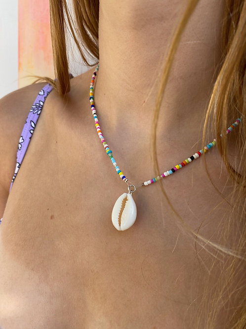 Loopsy Cowrie Shell Necklace