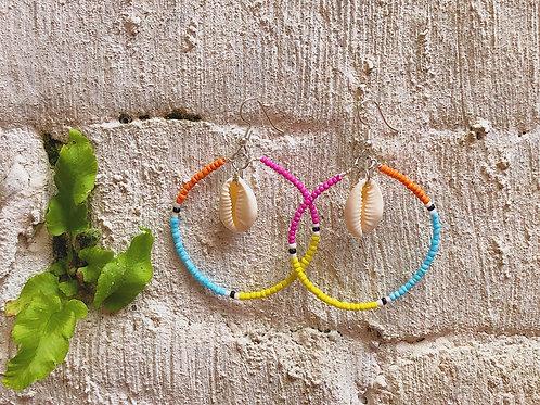 Colour Wheel Earrings