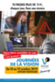 AFFICHE OFFICIELLE JOURNEES DE LA VISION