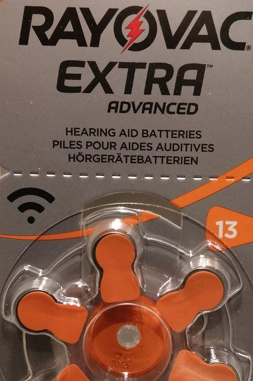 Piles pour appareil auditif 13