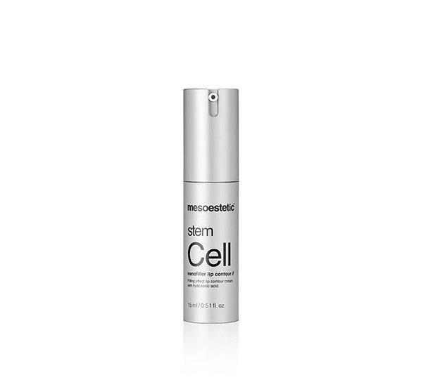 Stem Cell nanofiller lip contour