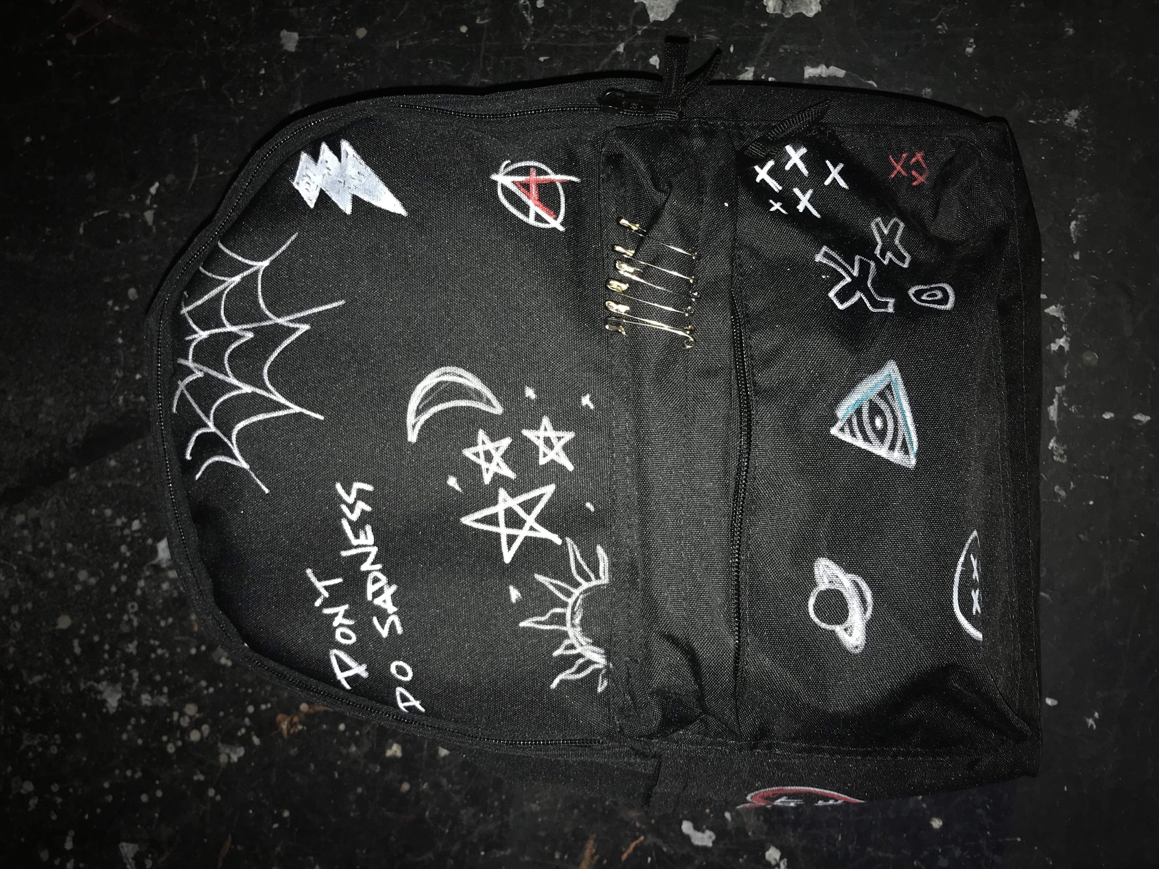 Moritz's backpack