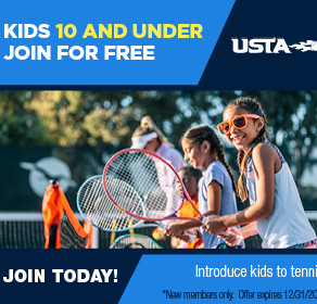10 & Under Join USTA for Free