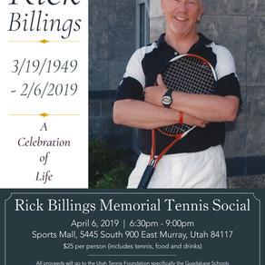 Rick Billings Memorial Tennis Social