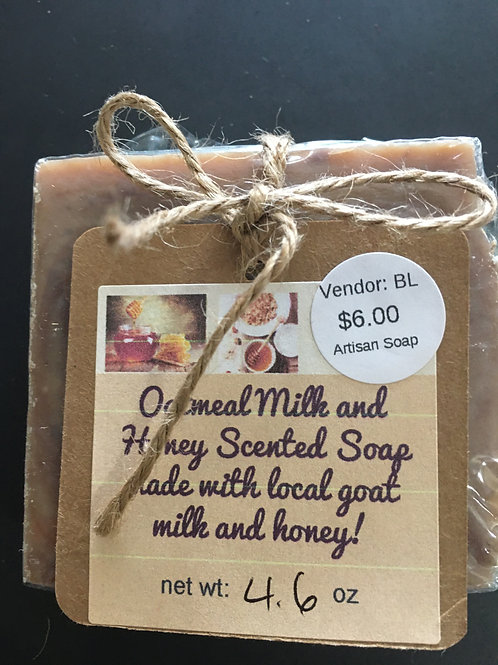 OATMEAL MILK AND HONEY SCENTED