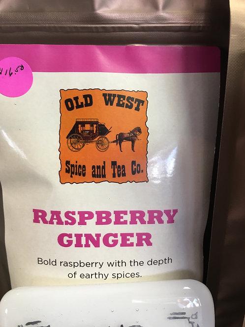 Rasoberry Ginger white/green tea
