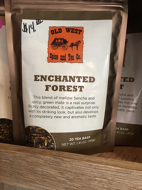 Enchanted Forest Green Tea