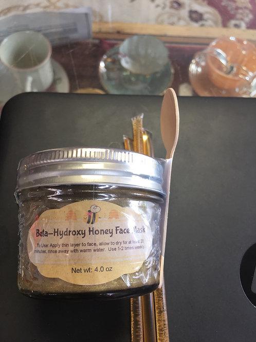 Beta-Hydroxy Honey Face Mask