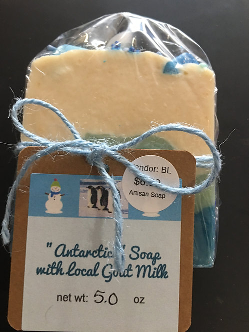 ANTARTICA SOAP with local GOAT MILK