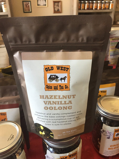 Hazelnut Vanilla Oolong