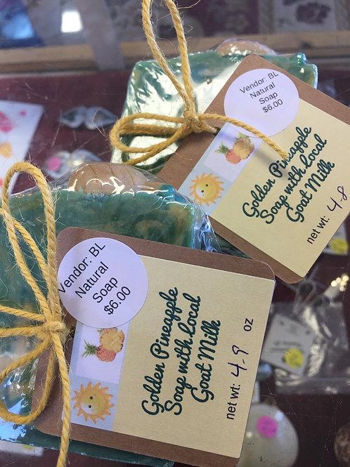Golden Pineapple soap