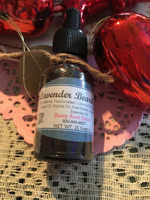 Lavender Beard oil