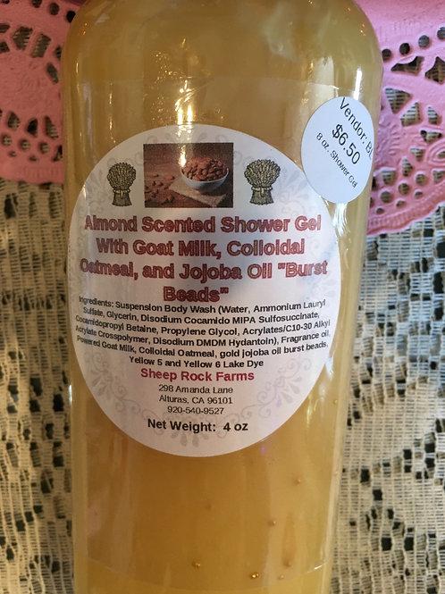 Almond Scented Shower Gel