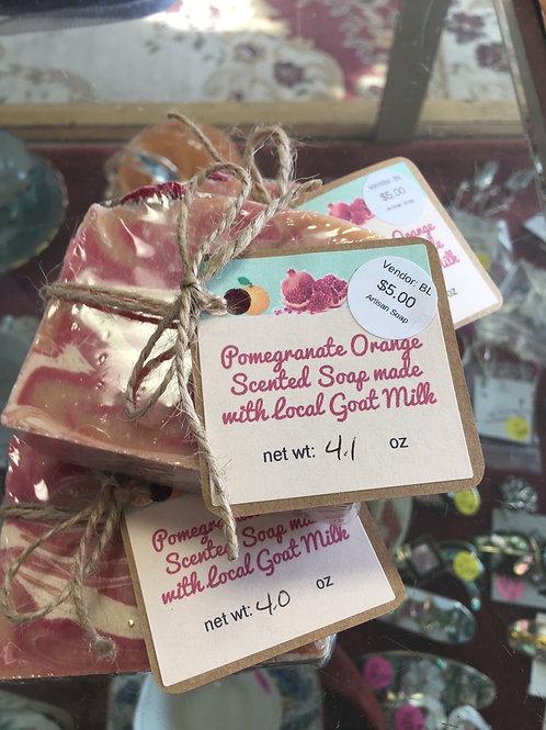 Pomegranate Orange scented soap