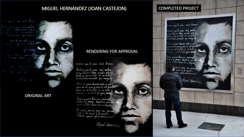 Miguel Hernandez at University