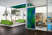 Office Ceiling and Door