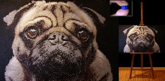 Pug Glass Wall Art