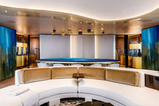 Yacht Dining Table and Dividing Walls