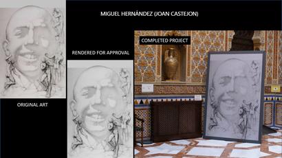 Miguel Hernandez by Castejon