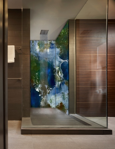 Shower Back Wall