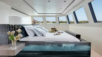 Yacht Stateroom with Bedframe