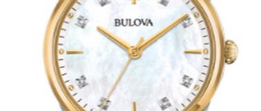 Bulova Sutton Two Tone with Diamonds 98P184