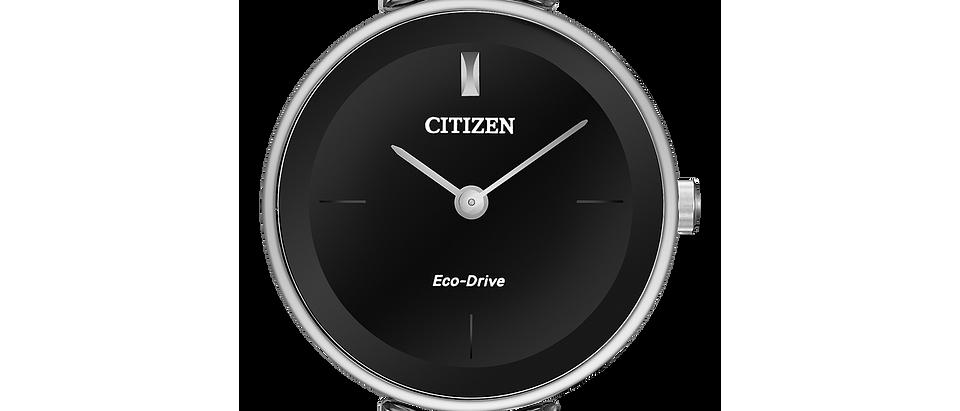 Citizen Eco-Drive Axiom with Black Dial EX1420-50E