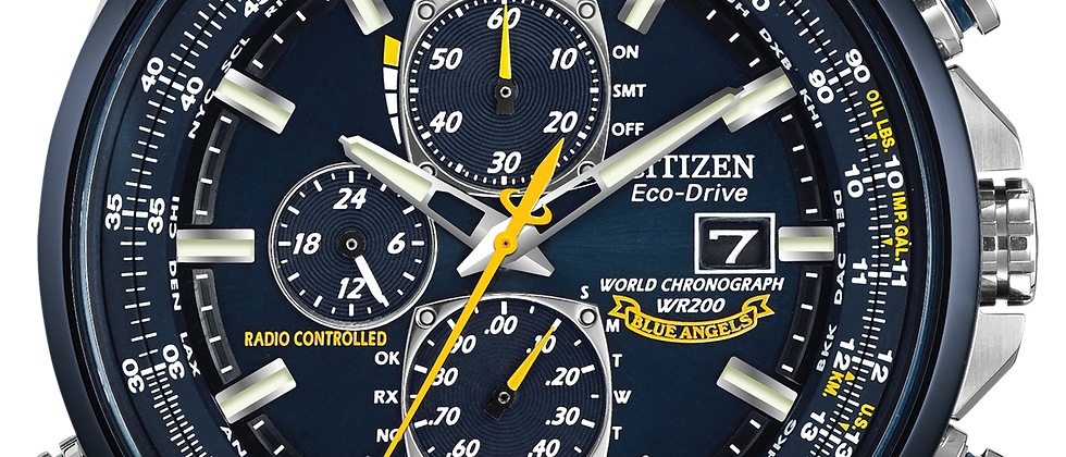 Citizen World Chronograph AT8020-03L
