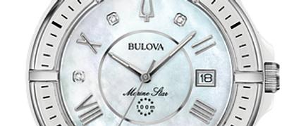 Bulova Marine Star White Ceramic with Diamonds 98P172