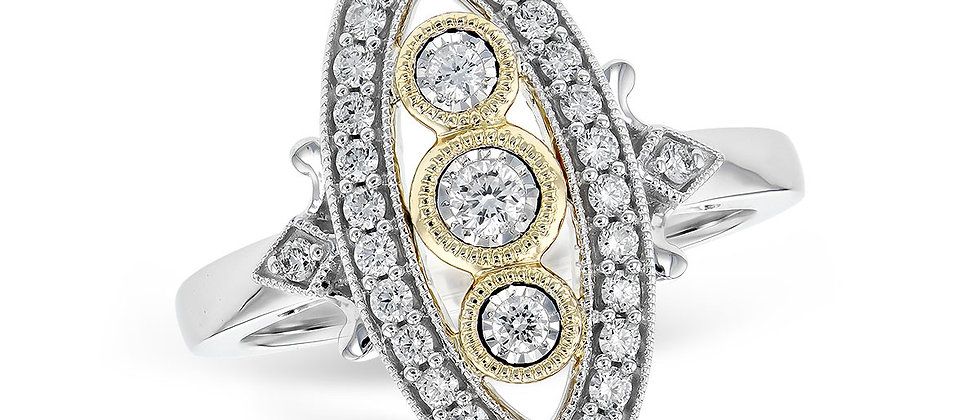Ladies Diamond Ring .36 TW