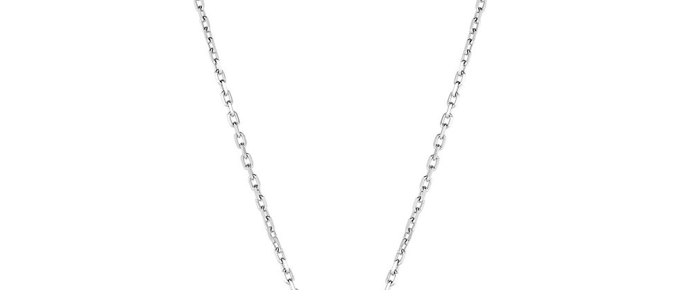 Silver & 18K Pearl Necklace