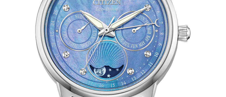 Citizen Eco-Drive Calendrier with Blue Dial FD0000-52N