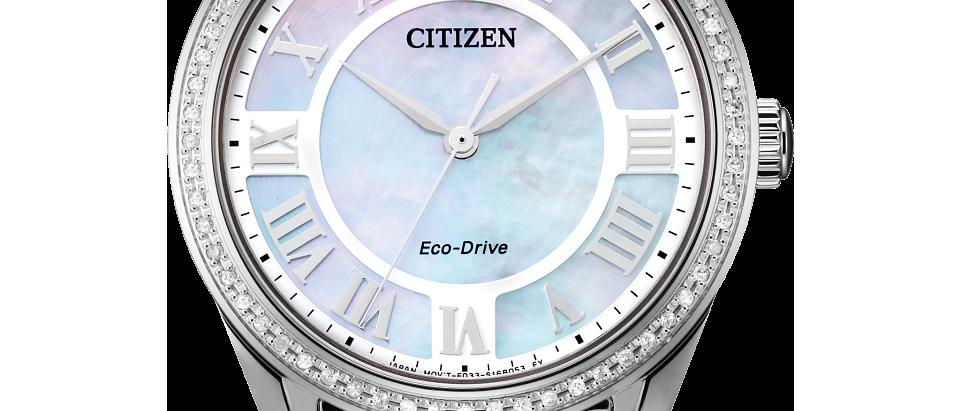 Citizen Eco-Drive Arezzo with Diamonds EM0880-54D