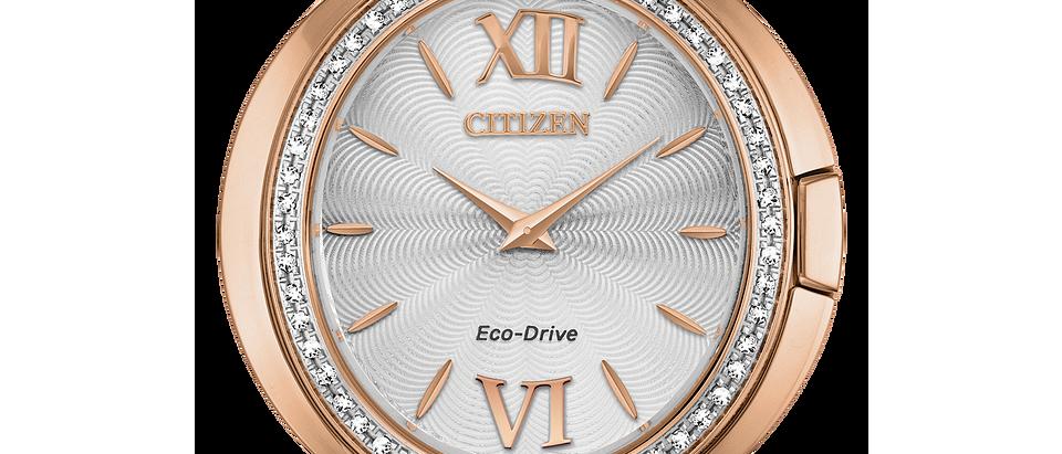 Citizen Eco-Drive Rose Tone Capella EX1503-54A