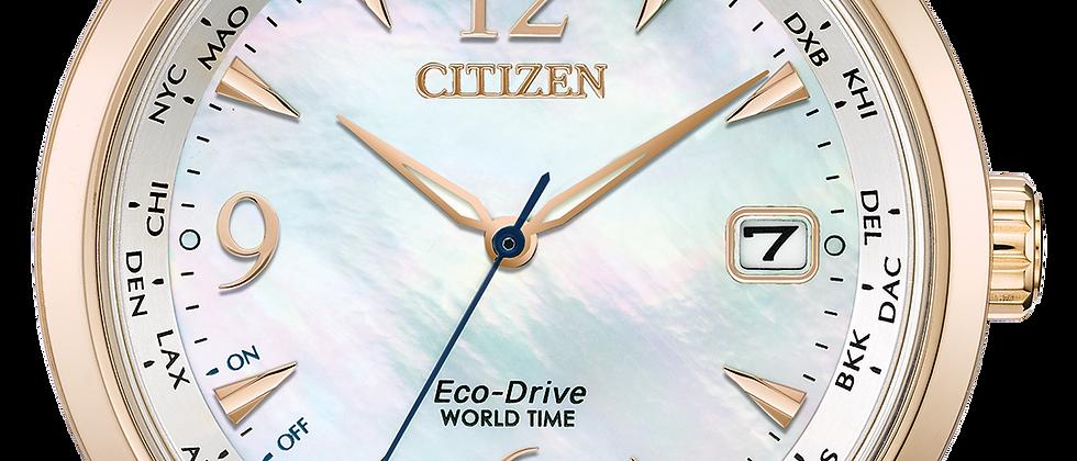 Ladies Citizen World Time FC8003-06D