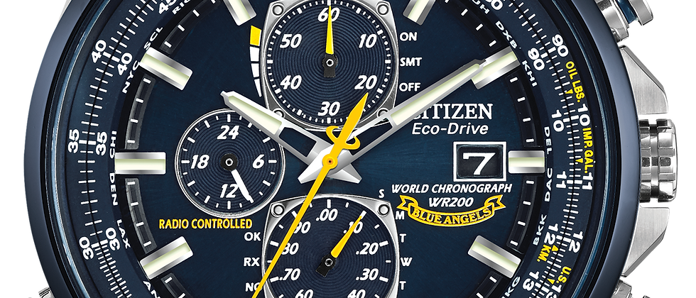 Citizen World Chronograph AT8020-54L