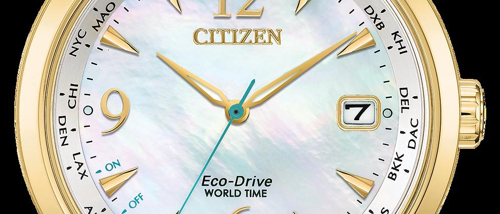 Ladies Citizen World Time FC8004-54D