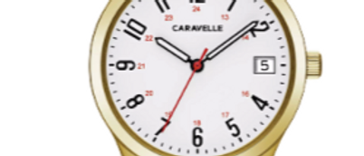Caravelle Traditional Gold Tone 44M113