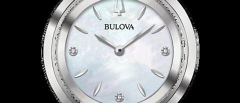 Bulova Rubaiyat Blue Tone Watch 96P196