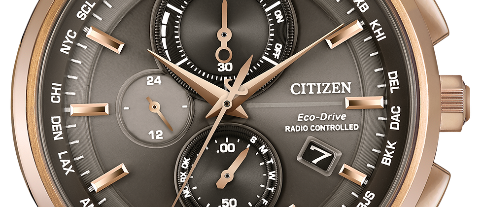 Citizen World Chronograph AT8113-04H Watch