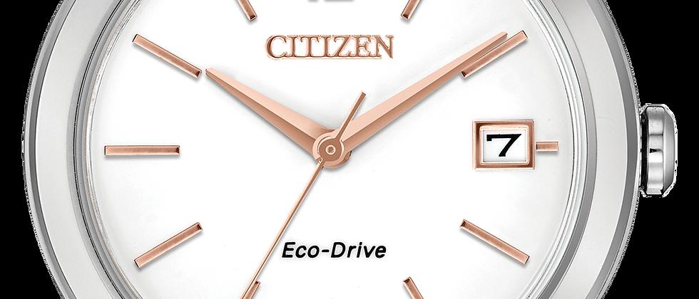 Ladies Citizen Eco Drive FE6140-03A