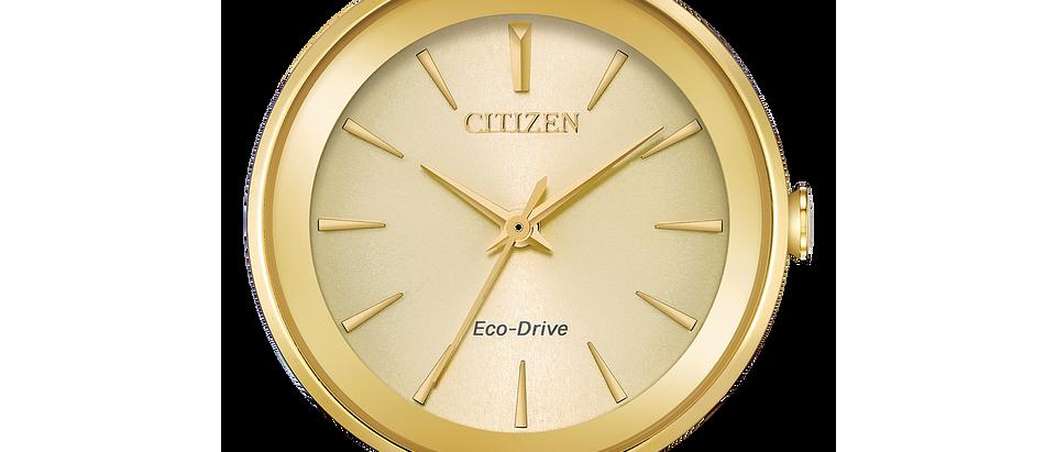 Citizen Eco-Drive Gold Tone Axiom EM0638-50P