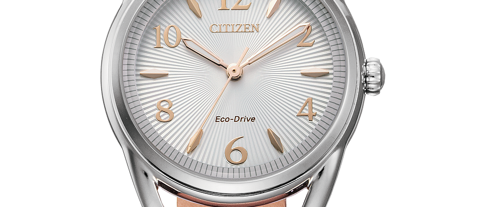 Citizen Eco-Drive with a Blush Leather Strap FE1210-07A
