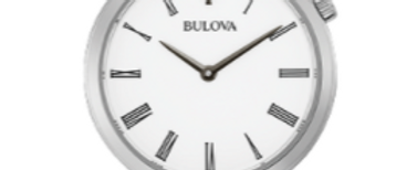 Bulova Regatta Stainless Steel with White Dial 96L275