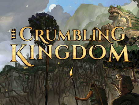 The Crumbling Kingdom Release Day: Buy a Book, Save the Forest!